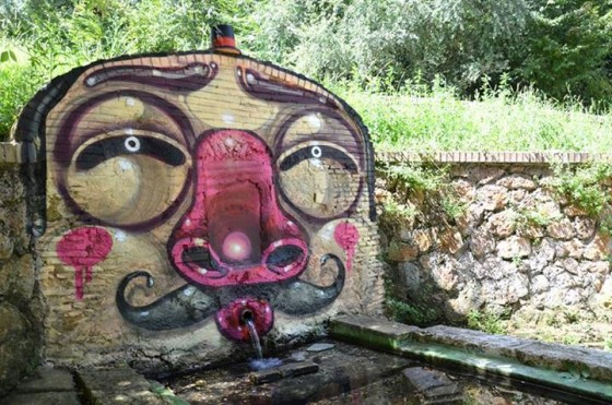 Mr. Thoms - The character design deventa street art