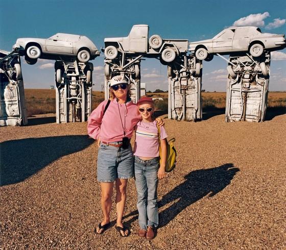 Roger Minick - Sightseer - Progetto fotografico sui turisti americani tra gli anni '80 e il 2000