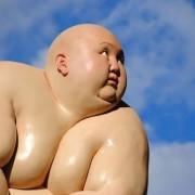 Mu Boyan - Sculture di corpi obesi