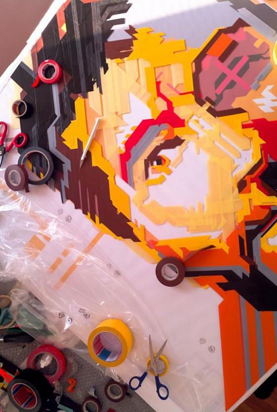 The Art of Denim | Street Art Project