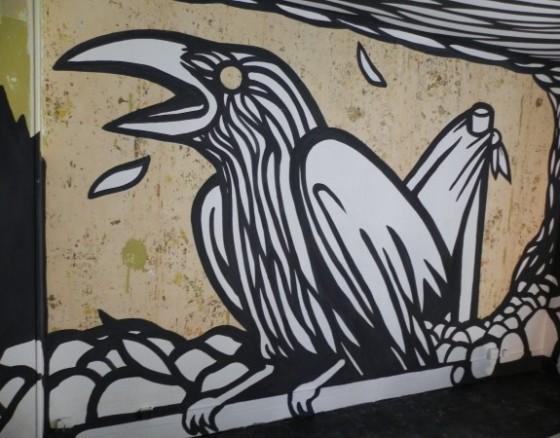 La Tour Paris 13 - Il Piano - Progetto di street art realizzato a Parigi dalla Galerie Itinerrance e l'agenzia Le Grand Jeu