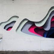 1010 - Street Art - Fori colorati e creature bidimensionali