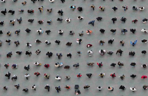 Squares, le foto aree false di Adam Magyar