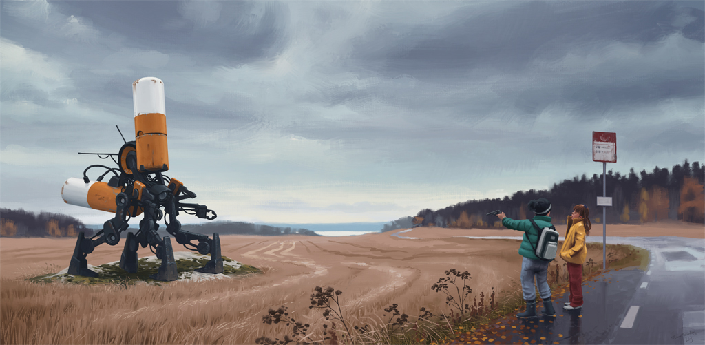 Simon Stålenhag - Digital paintings