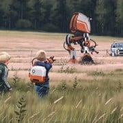 Simon Stålenhag - Digital paintings
