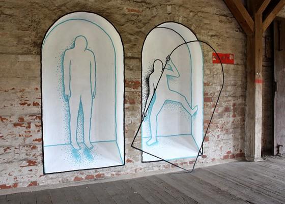 Daan Botlek - Illustratore e street artist olandese