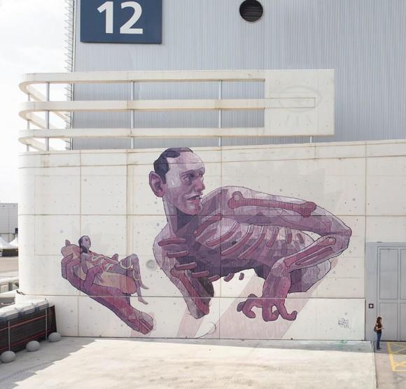 Aryz - Street artist e illustratore spagnolo