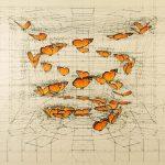 Rafael Araujo – Calculation – Illustrazioni di farfalle e spirali matematiche