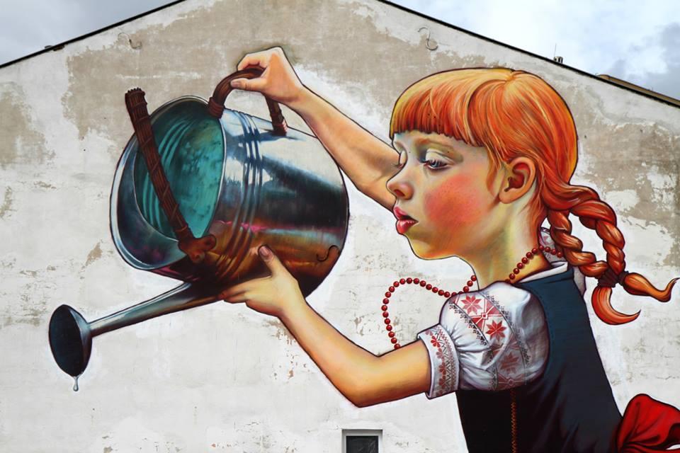 Natalia Rak - Graffiti artist, illustratrice e pittrice polacca