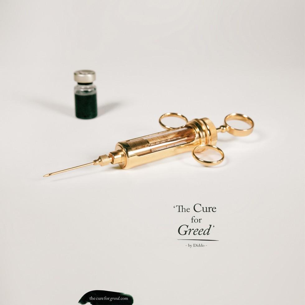 Diddo – The Cure for Greed - Riflessione sull'avidità umana