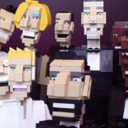 Ochre Jell - Celebrity in Lego
