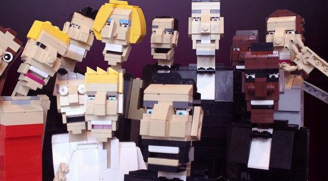 Ochre Jelly – Celebrity in Lego
