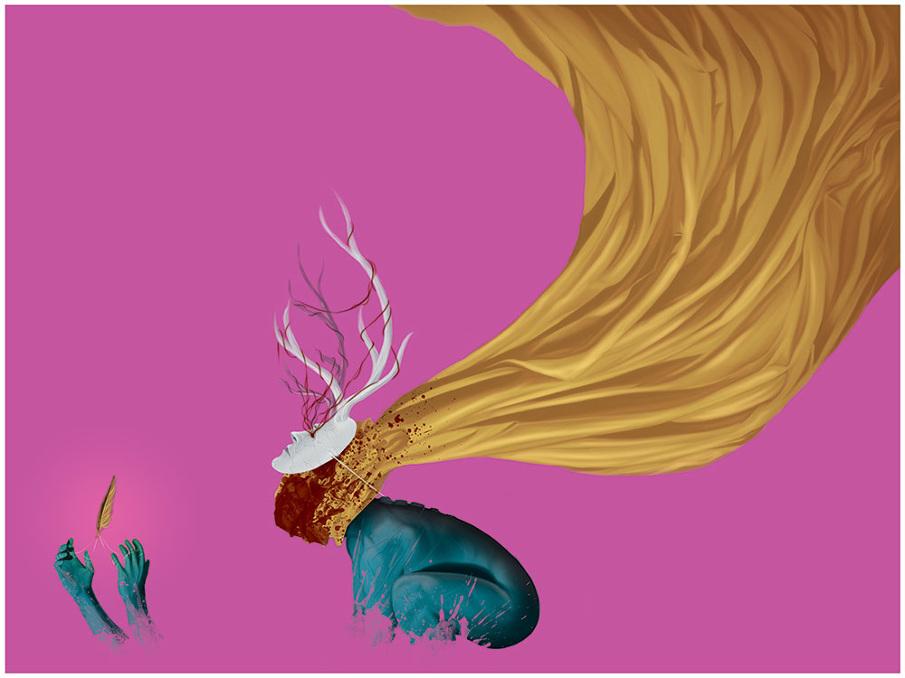 Randy Ortiz - Illustratore freelance autodidatta canadese dallo stile surrealista | Collater.al.