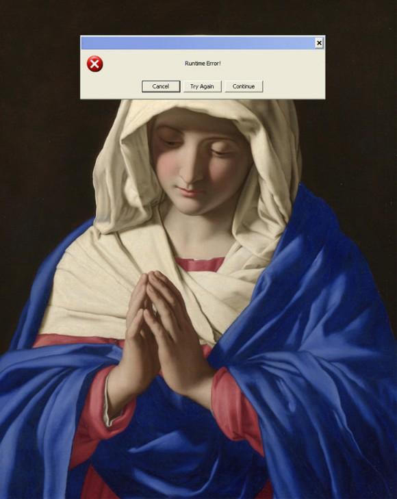 Nastya Nudnik - Emoji Nation - Icone web all'interno di quadri famosi