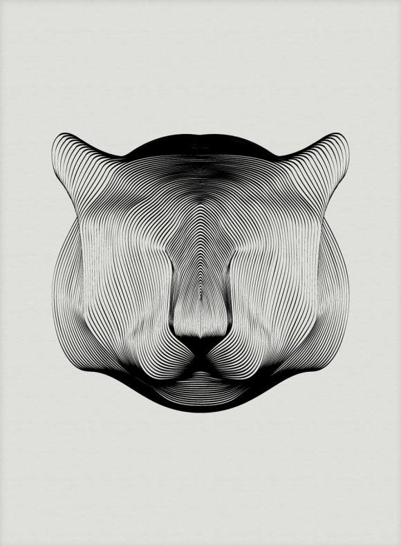 Andrea Minini - Animals in Moirè