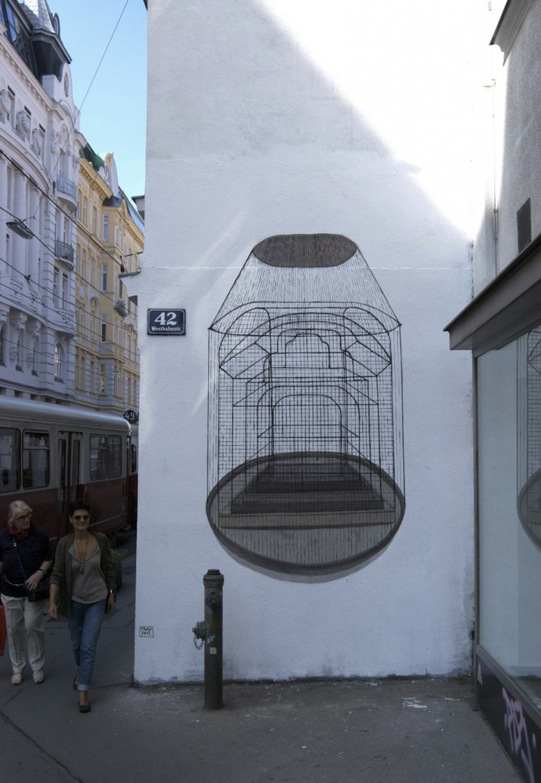 Hyuro - Street artist spagnola