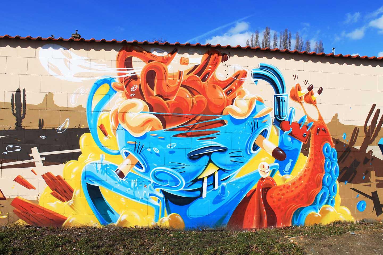 La street art di Herr Von Bias aka HRVB | Collater.al