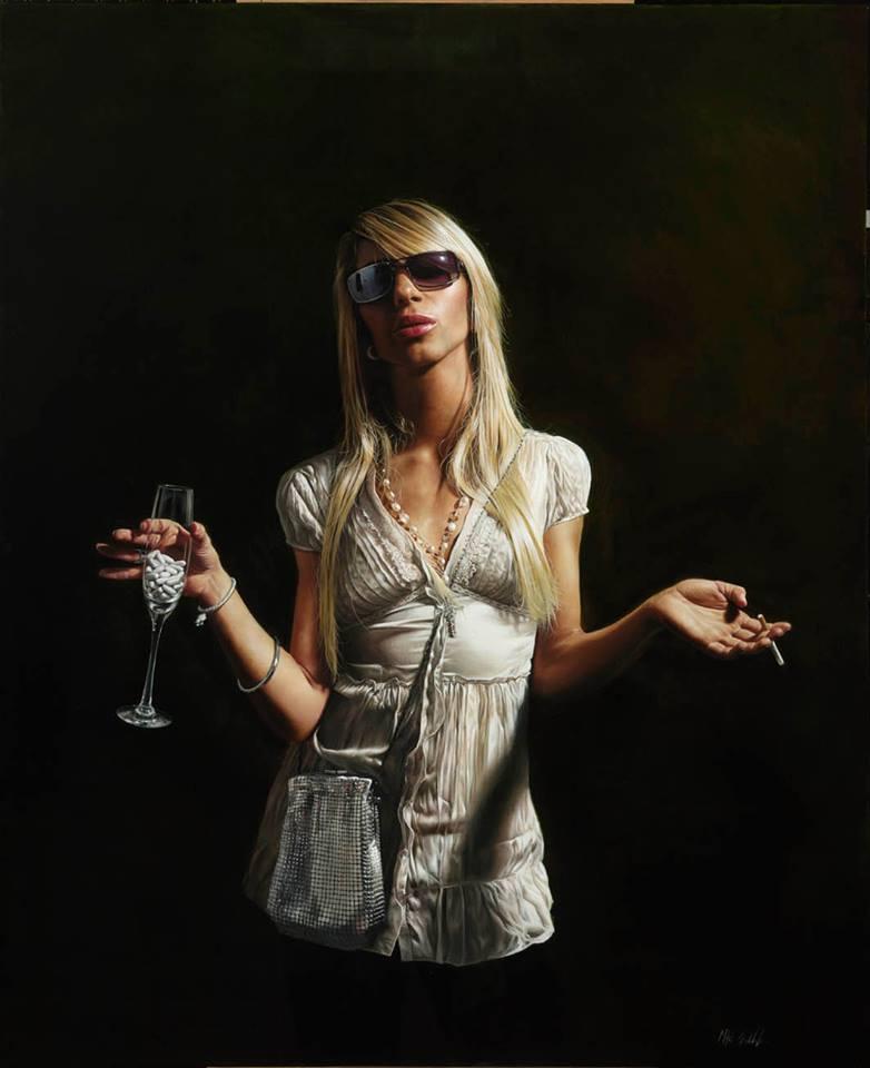 Mitch Griffith - Pittura classica e cultura contemporanea