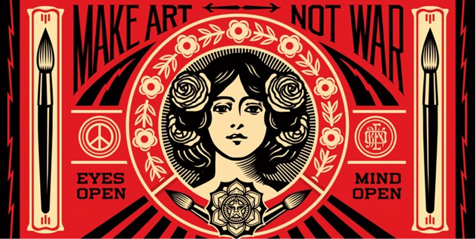 Shepard Fairey & Brett Novak  – Obey this film