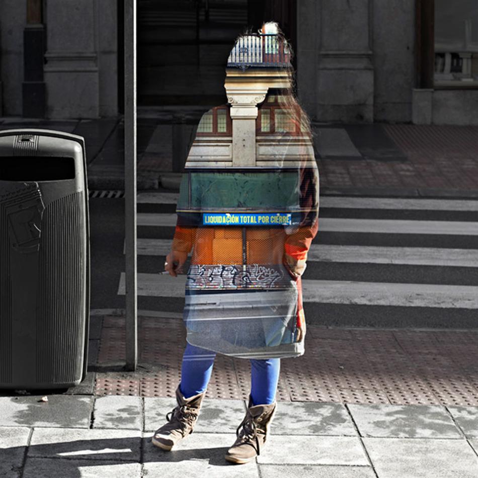 Photocollage, il progetto di Nacho Ormaechea