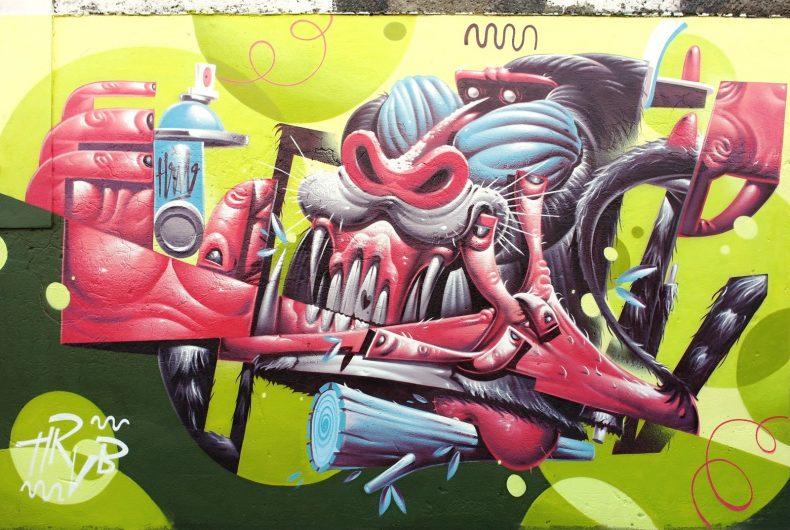 La street art  di Herr Von Bias aka HRVB