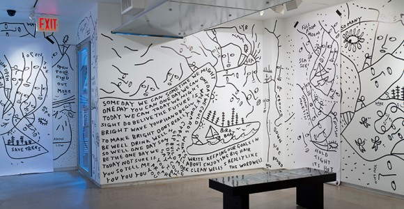Shantell Martin - Drawing on Everything - Momenti dell'artista