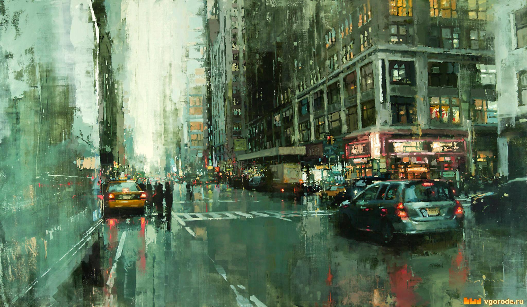 I Cityscapes del pittore americano Jeremy Mann | Collater.al