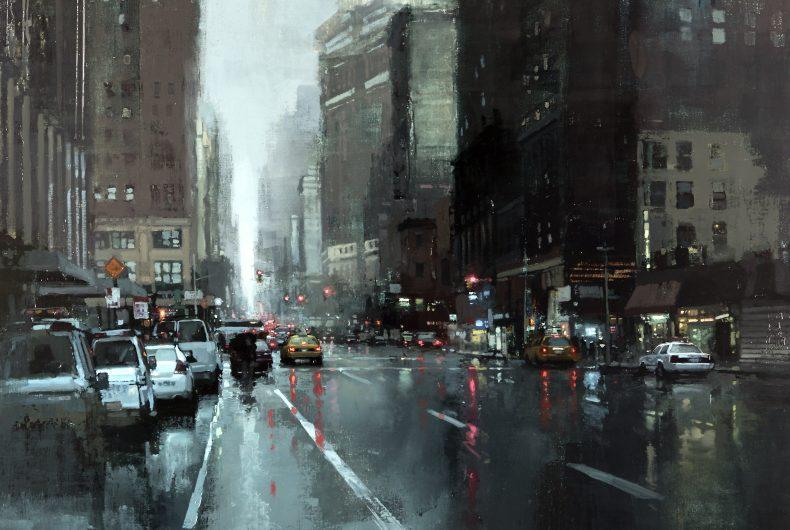 I Cityscapes del pittore Jeremy Mann