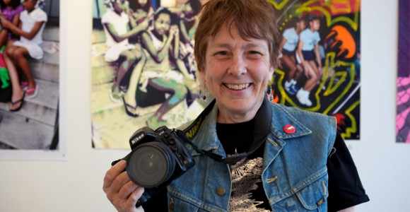 Martha Cooper - Interview at Outdoor Art Festival 2013 in Rome