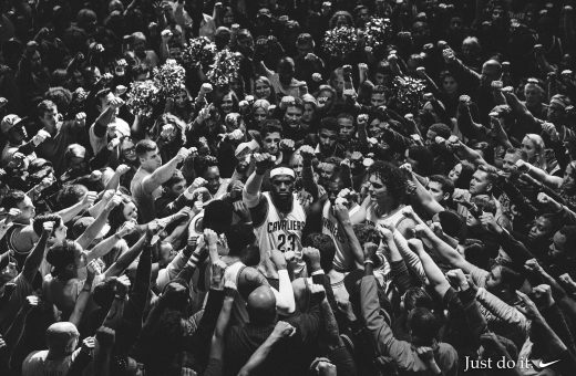 Together, il commercial di Nike Basketball con LeBron