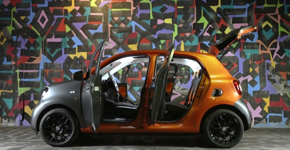 Test Drive - Smart ForTwo + ForFour - Roma