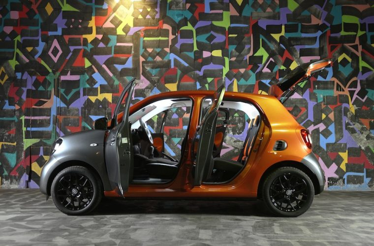Smart – ForTwo + ForFour Test Drive