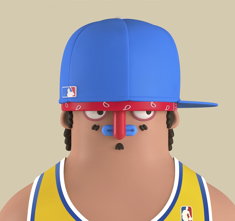 I personaggi in 3D di El Grand Chamaco   Collater.al