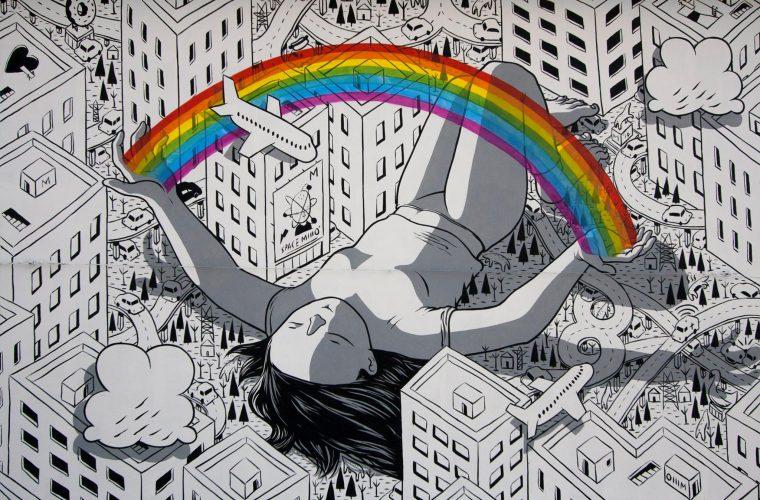 La street art illustrata di Millo