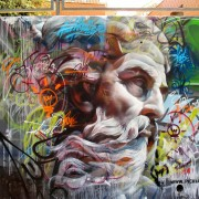 Pichi e Avo - Greek Gods Graffiti