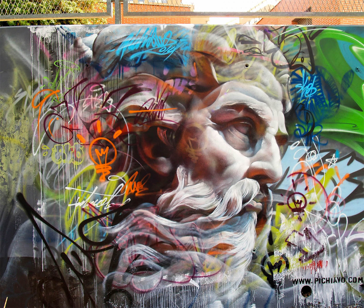 Pichi e Avo – Greek Gods Graffiti