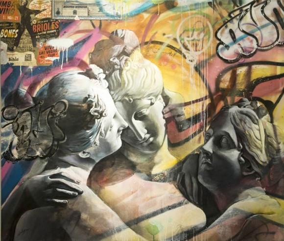 Pichi e Avo - Greek Gods Graffiti