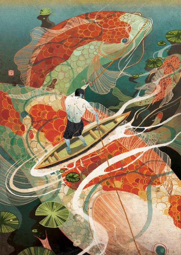 Victo Ngai - Illustratrice di Hong Kong
