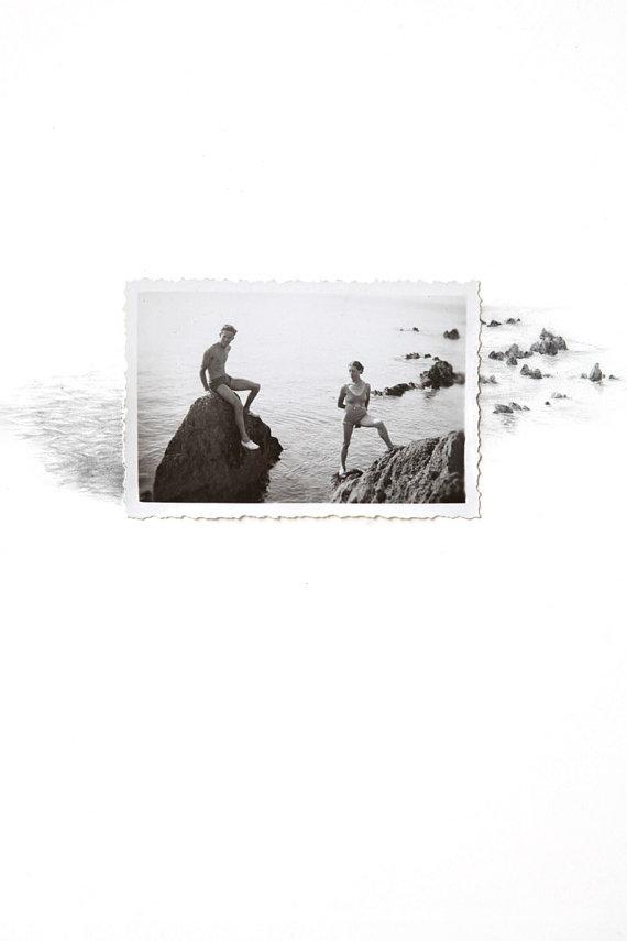 Lauren King disegna nuovi panorami oltre la cornice di vecchi scatti vintage