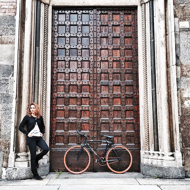 Oggi #pedaloperché con questo tempo la città è bellissima. Ph:…