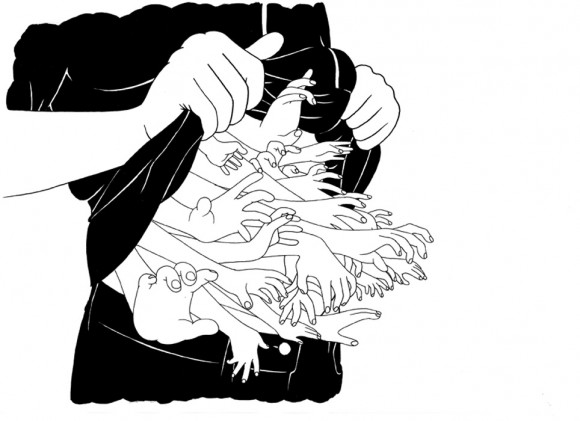 Mrzyk & Moriceau racchiudo nelle loro illustrazioni tutta l'ironia e la sensualità francese