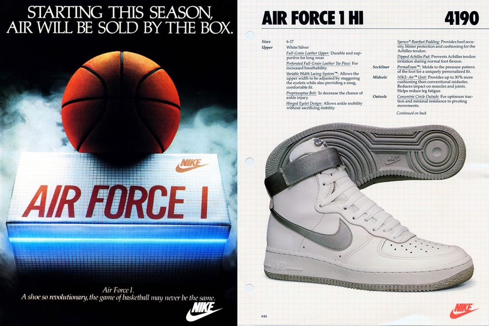 cheaper b62c5 b154a 33 cose da sapere sulla Nike Air Force 1  Collater.al