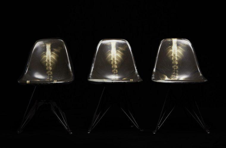 Dr. Woo x Modernica – Limited edition Fiberglass Chair