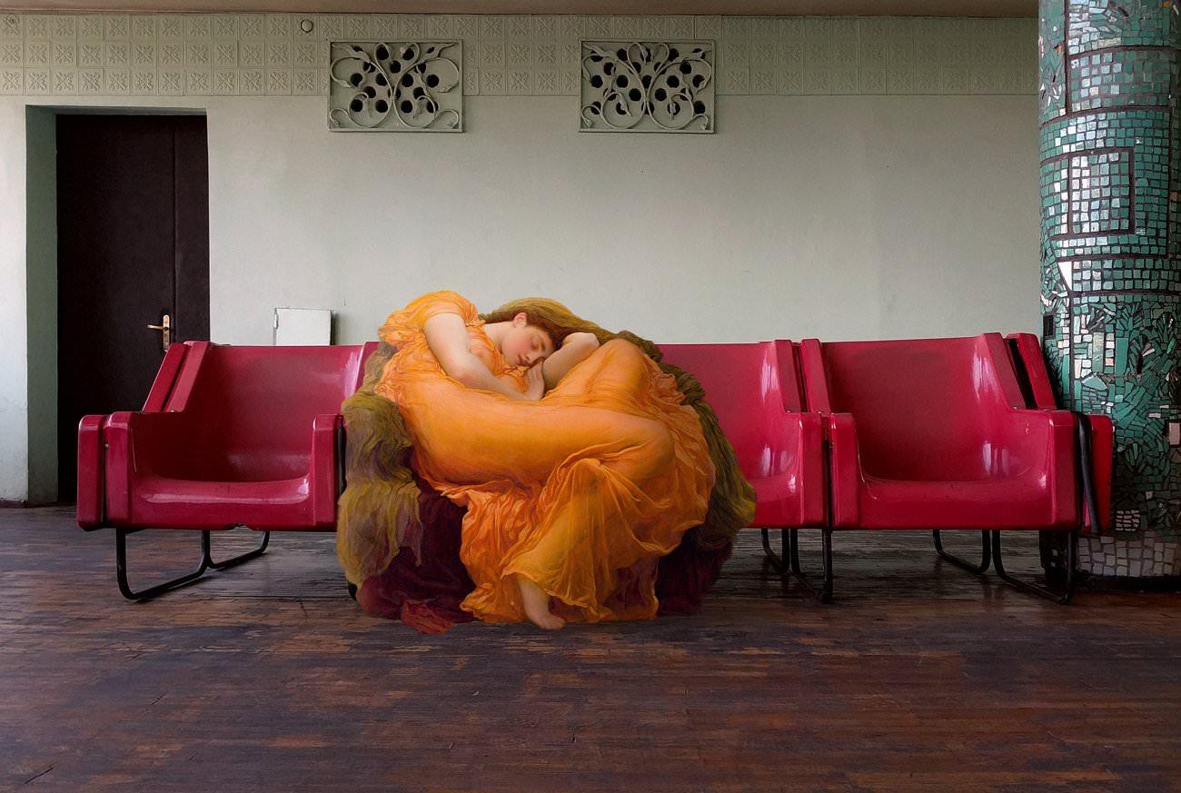 Art History in Contemporary Life, i fotomontaggi di Alexey Kondakov