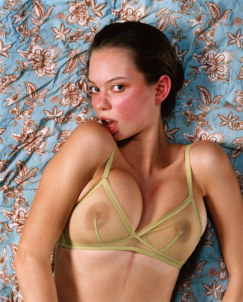Like a Woman, female orgasm portrayed by Bettina Rheims
