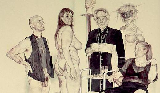 Riccardo Mannelli – Apoteosi dei Corrotti