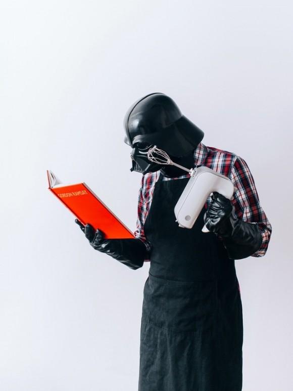 Daily life of Darth Vader