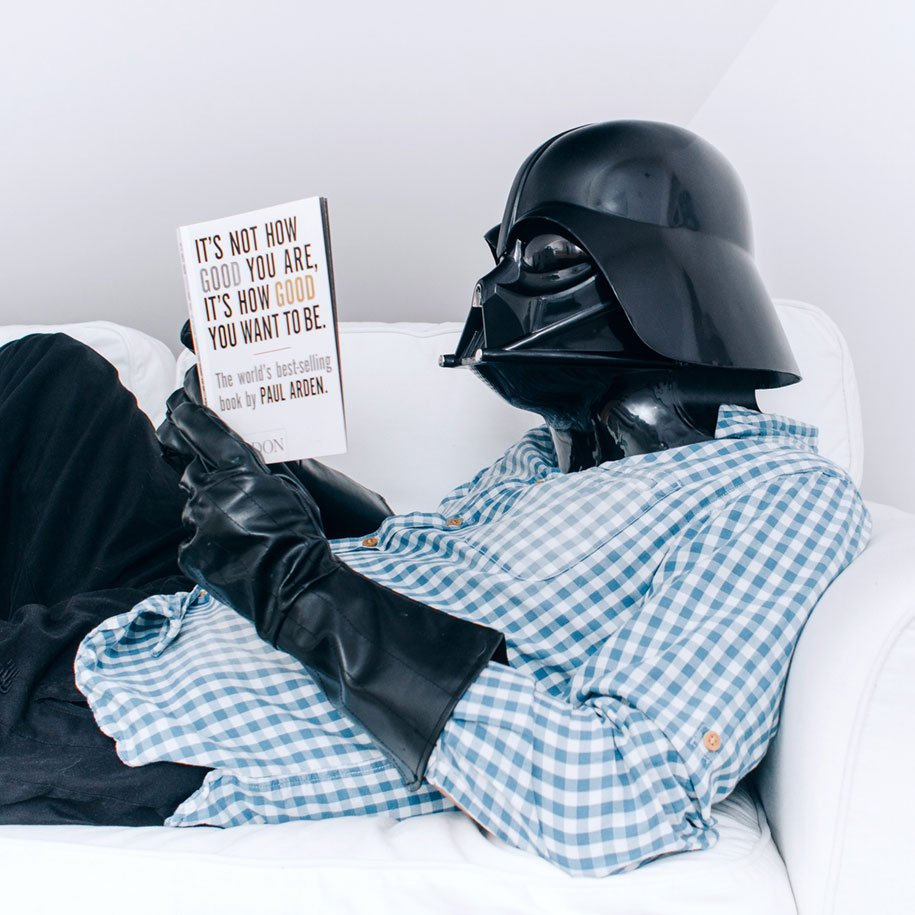 The Daily Life of Darth Vader, il progetto di Pawel Kadysz | Collater.al