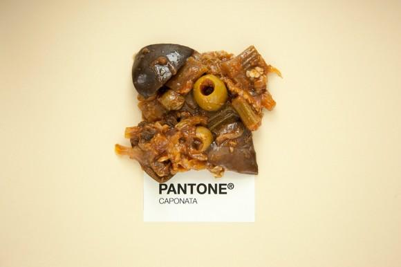 SICILIAN FOOD AS PANTONE
