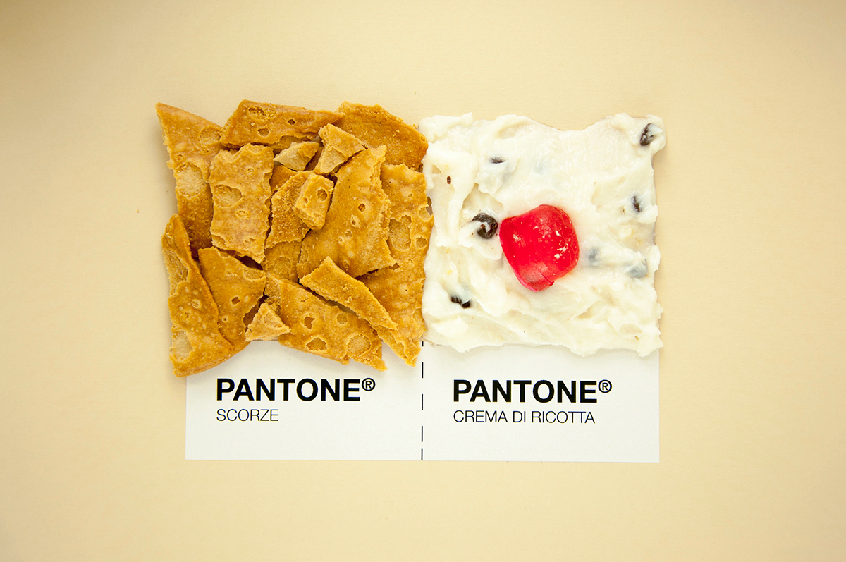 Georgia Calderone – Sicilian Food as Pantone